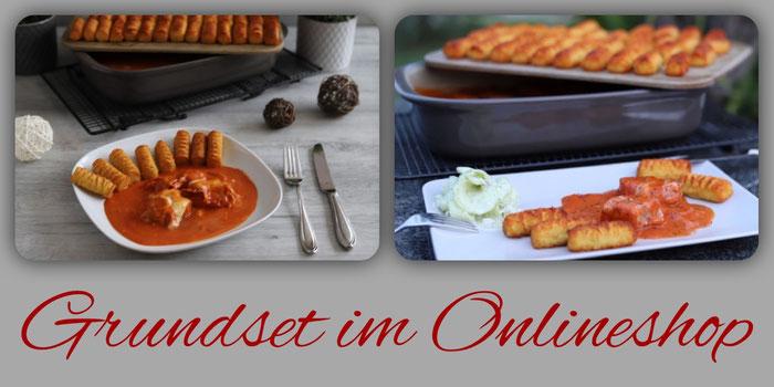 Grundset von Pampered Chef mit Zauberstein und Ofenhexe im Onlineshop bestellen