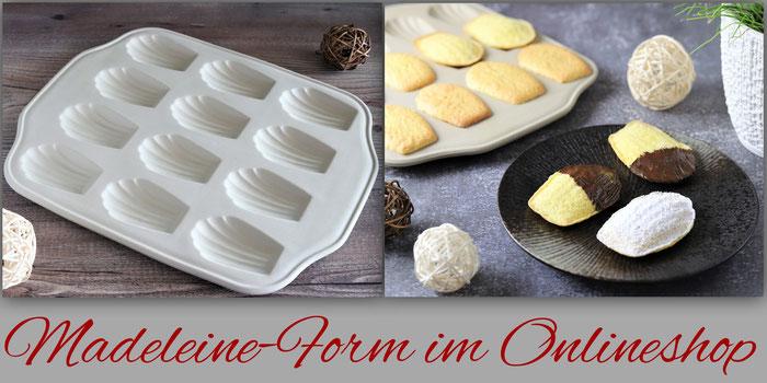 Stonewareform Madeleine von Pampered Chef im Onlineshop bestellen