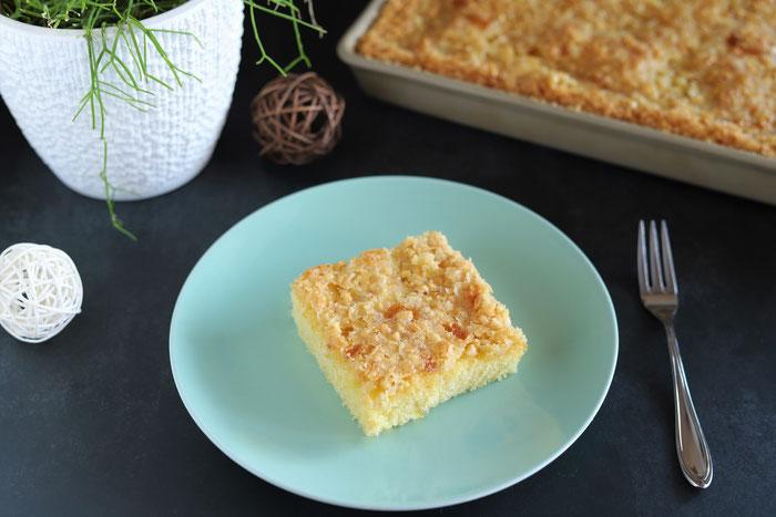 Butterkuchen mit Mandeln im Ofenzauberer von Pampered Chef