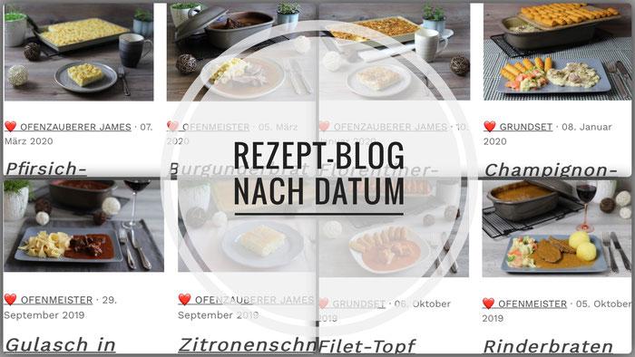Pampered Chef Rezept-Blog, Rezeptsammlung Ofenzauberei mit Pampered Chef mit Onlineshop
