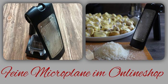 Feine Mircrplane Reibe mit Restehalter von Pampered Chef im Onlineshop