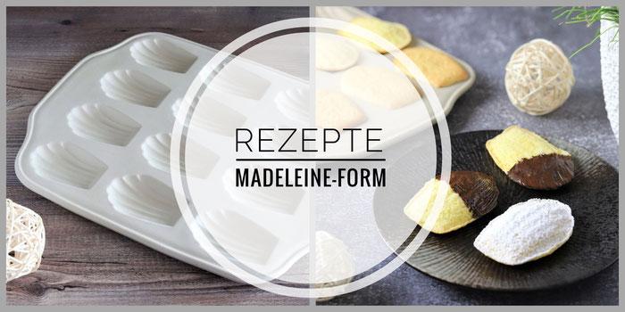 Rezepte für die Madeleine Form von Pampered Chef