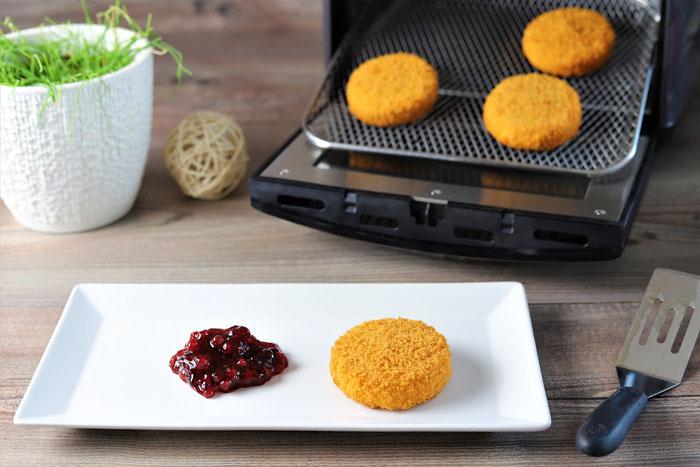 Gebackener Camembert mit Preiselbeeren im Air Fryer von Pampered Chef aus dem Onlineshop