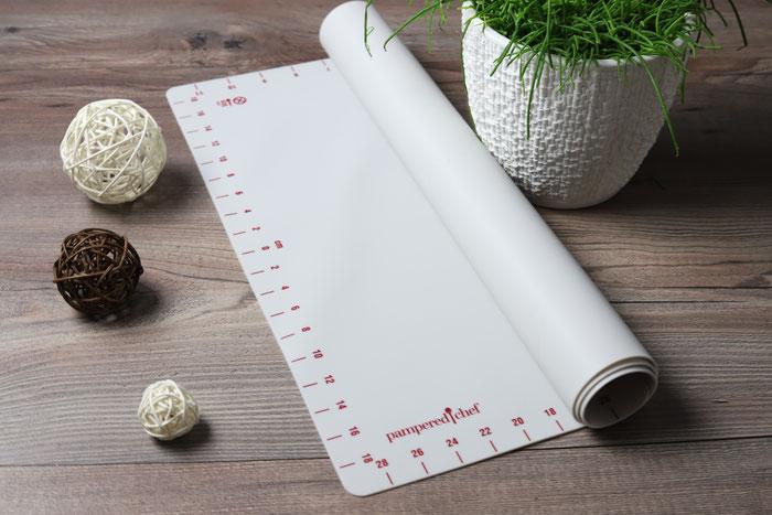 Teigmatte, Teigunterlage, Backmatte aus dem Pampered Chef Onlineshop bestellen