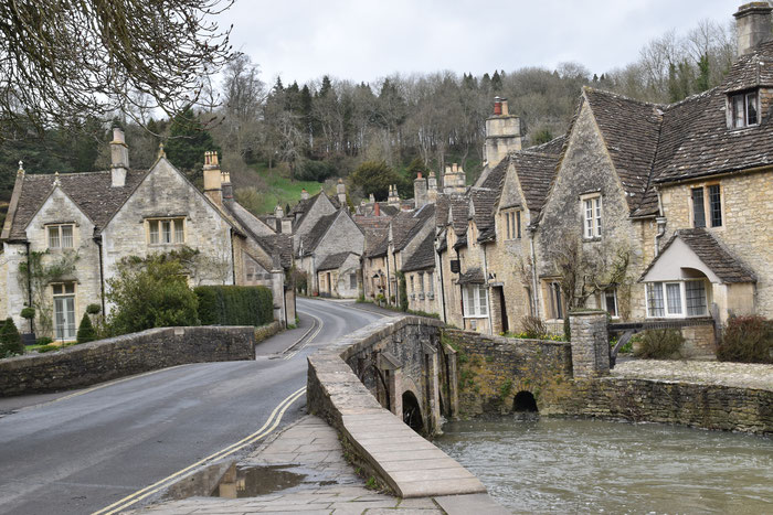 Castle Combe in Cotswolds