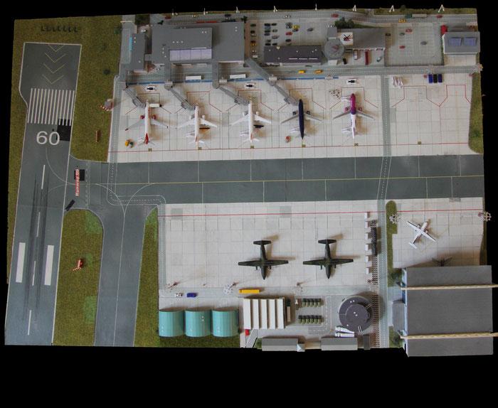 Overview vom ehemaligen Flughafengelände (am 01.11.2020 stillgelegt)