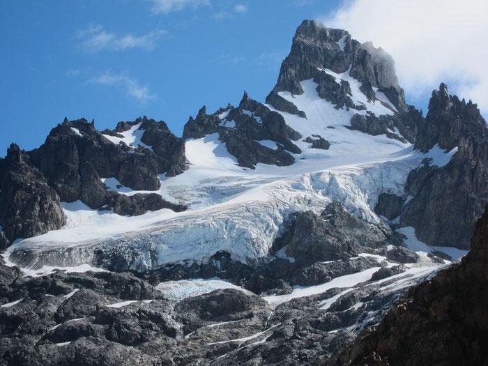 Glaciar Penon, Reserva Nacional Cerro Castillo