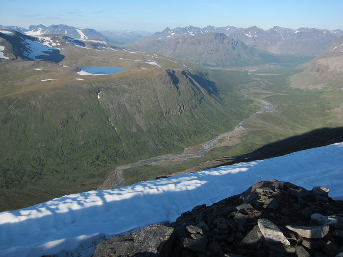 View from Naite, Sarek