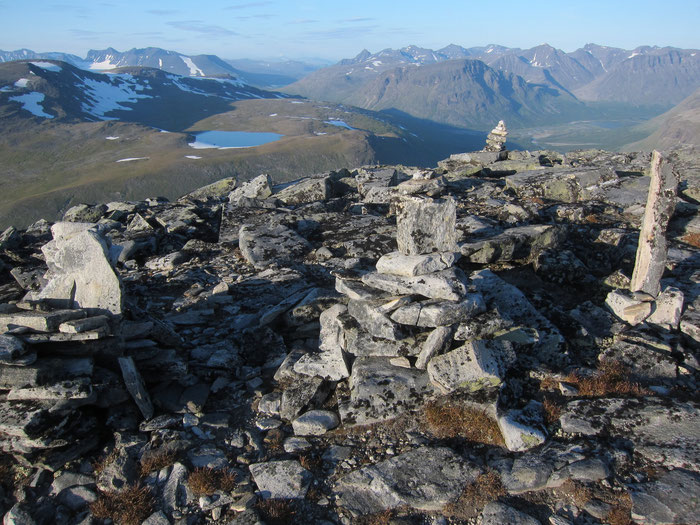 On top of Naite, Sarek