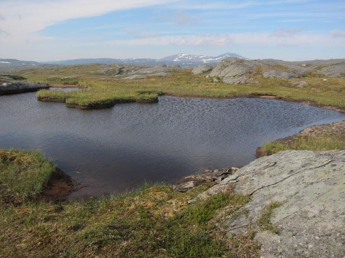 Tuottar lakes, Padjelanta