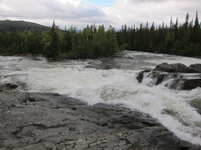 Kvikkjokk rapids