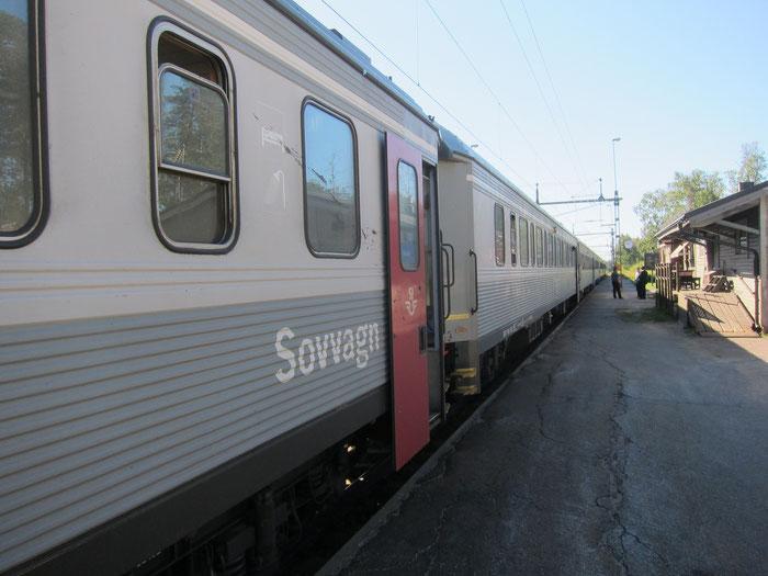 Sleeping Car, Arctic Circle Train, Murjek