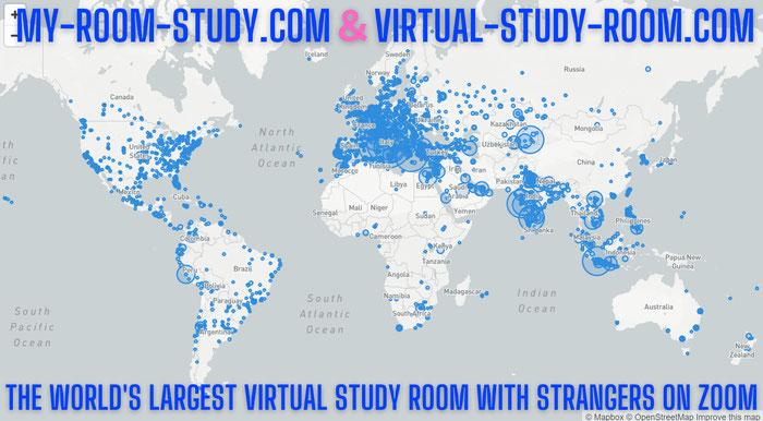 グローバルICT教育プラットフォームであるオンライン自習室のZOOM医進館