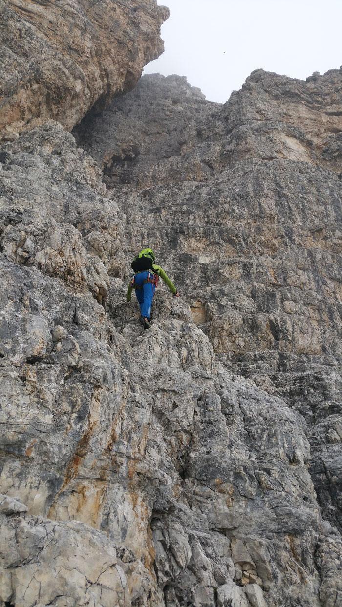 An der Großen Zinne, Drei Zinnen, Dolomiten