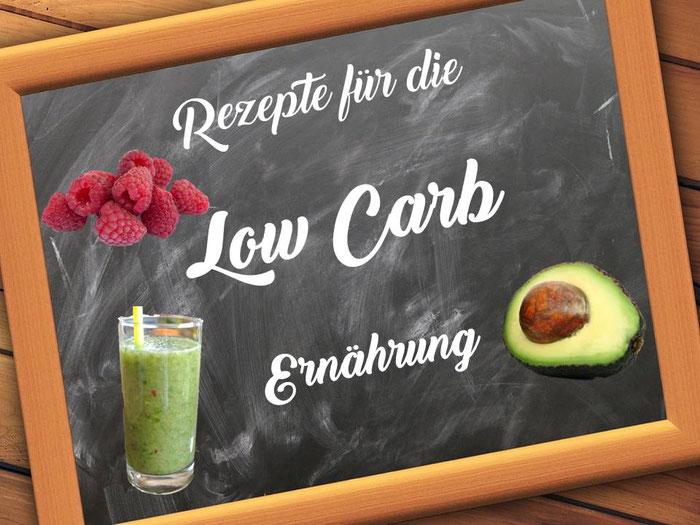 Rezepte für die Low-Carb-Ernährung