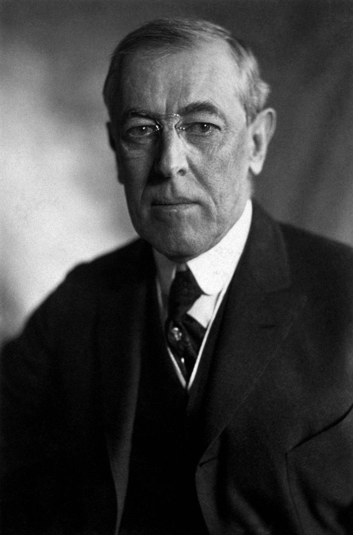 Document 5_ Le président Woodrow Wilson, prix Nobel de la paix en 1919