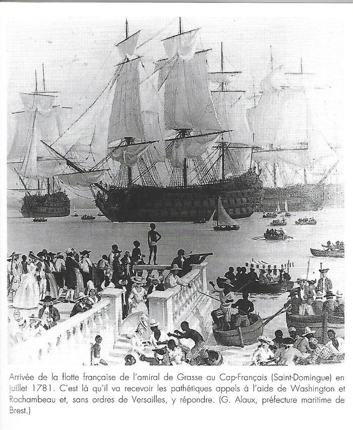 Document 4_ Arrivée de la flotte du comte de Grasse à Saint-Domingue en juillet 1781