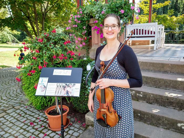 Musikschule Stoerzbach, Musik in der Innenstadt, Musik im Stadtpark, Lahr