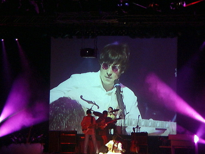 Johnny Silver as John Lennon Multimedia Show