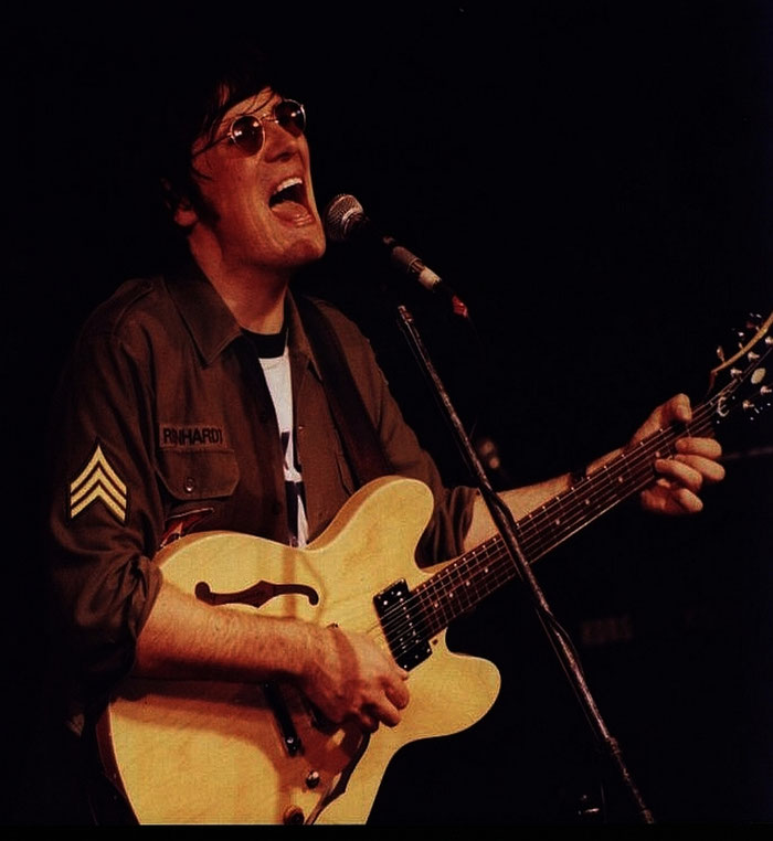 Johnny Silver as John Lennon