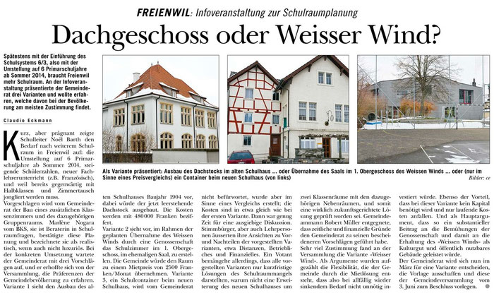 Rundschau, 21. Feb. 2013