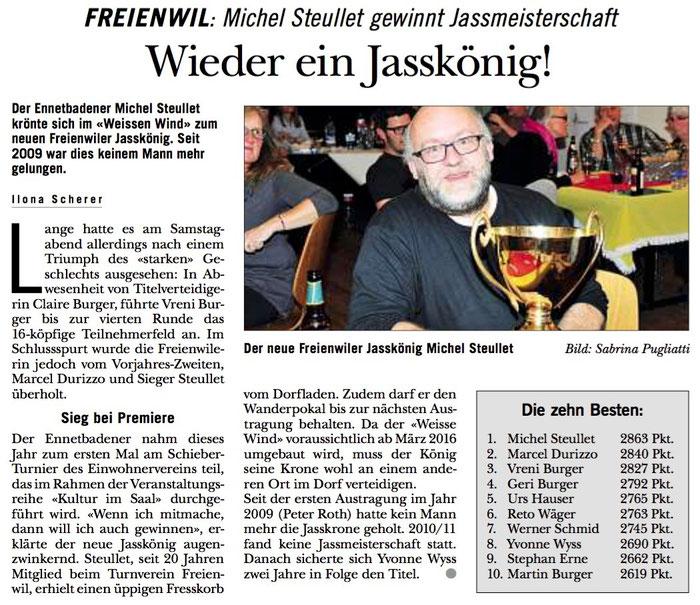 Rundschau, 29. Okt. 2015