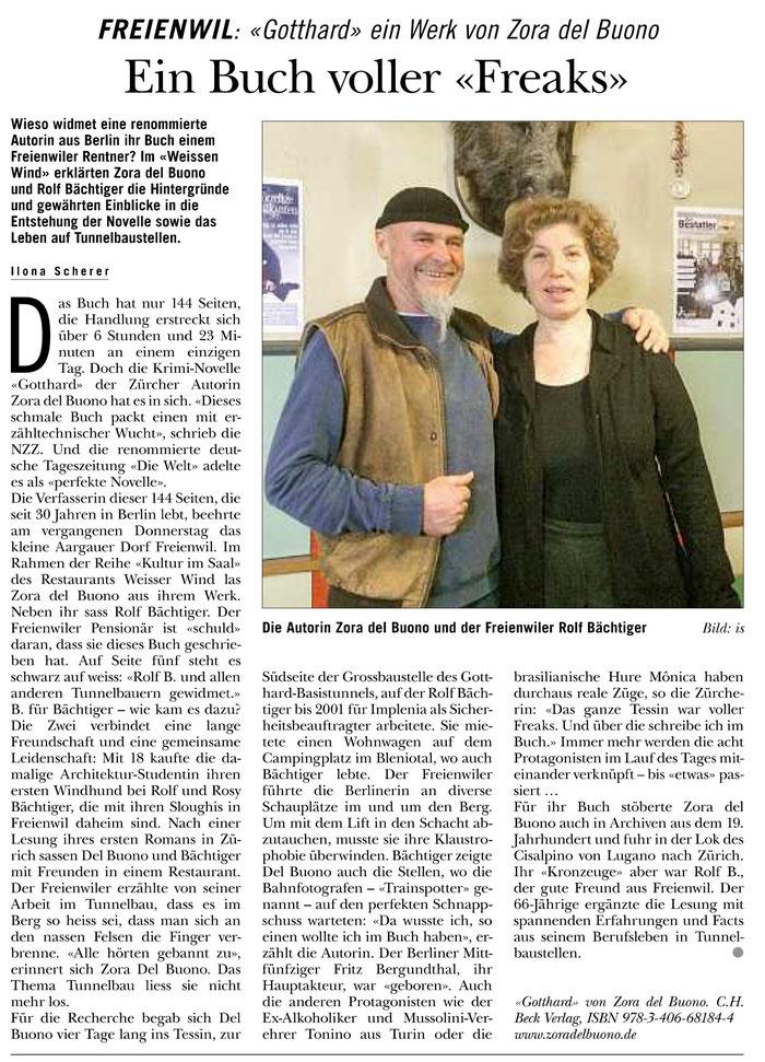 Rundschau, 10. März 2016