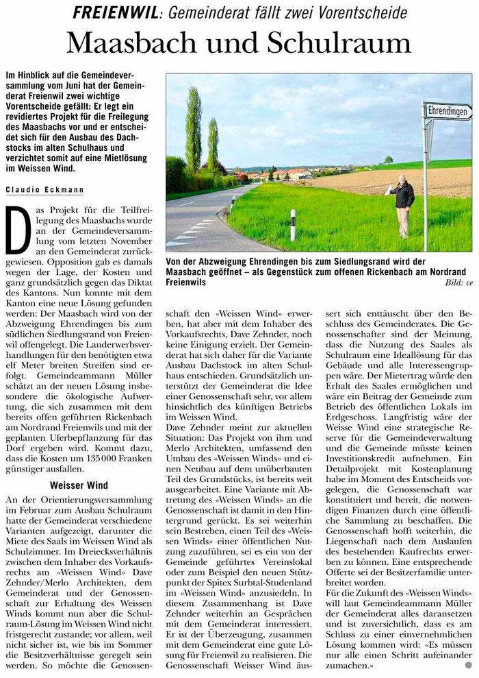Rundschau, 16. Mai 2013