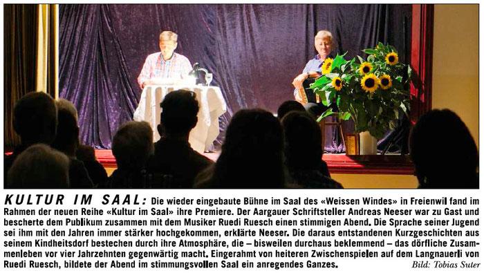 Rundschau, 9. Okt. 2014
