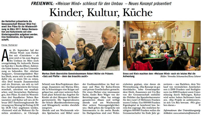 Rundschau, 1. Okt. 2015