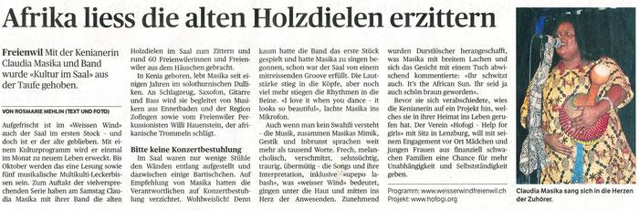 Badener Tagblatt, 12. März 2018