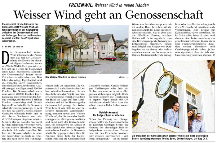 Rundschau, 14. Nov. 2013