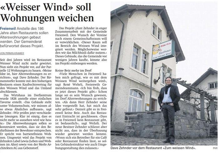 Aargauer Zeitung, 9. März 2012