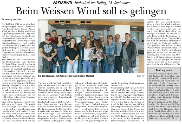 Rundschau, 17. Sept. 2015