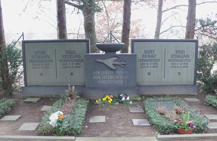 Grab der abgestürtzten V1 Besatzung