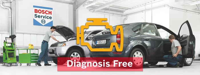 Diagnosis free, diagnostico básico gratuito de averías.