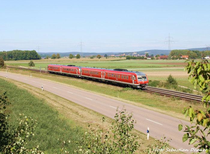 Zwei 610er kurz nach Irrenlohe (Bayern)