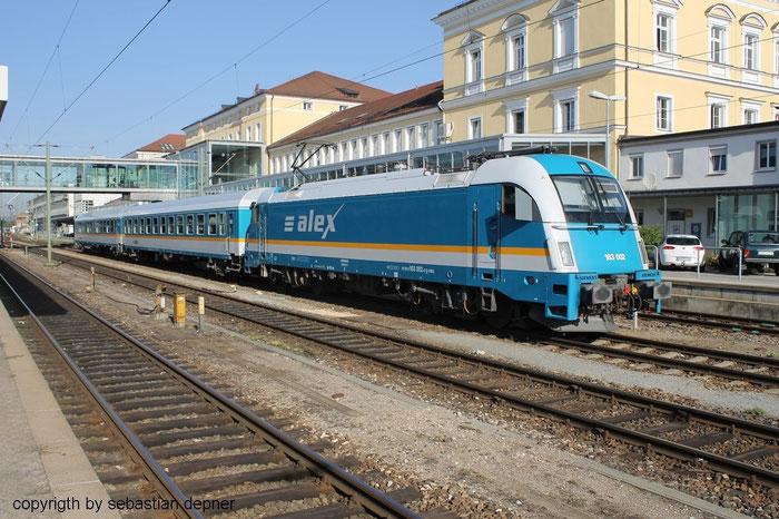 Baureihe 183 Des alex in Regensburg