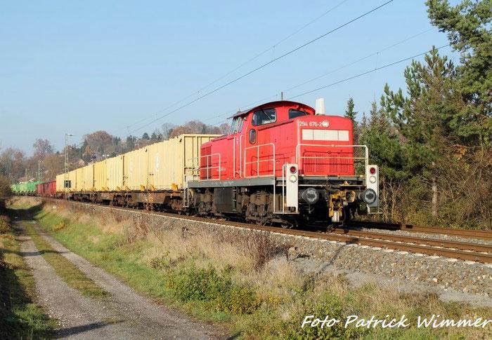 294 676-2 Mit Dem Müllzug von Coburg - neuses nach Lichtenfels in Creidlitz