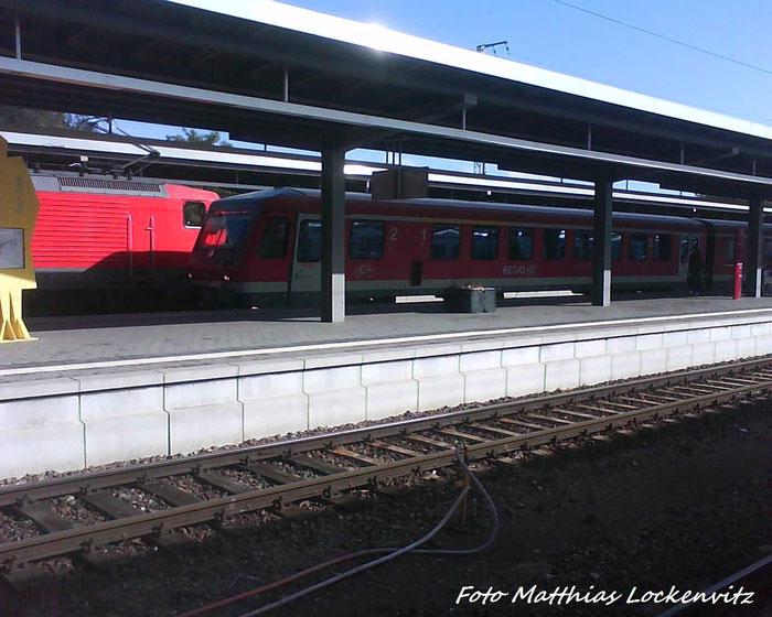 628 385-0 Beei Der Einfahrt In Stralsund Hbf