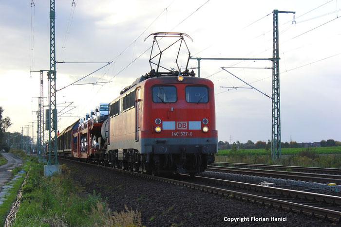 140 637-0 Unterwwegs In Niedersachsen