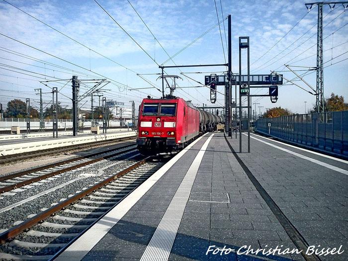 Durchfahrt Erfurt Hbf