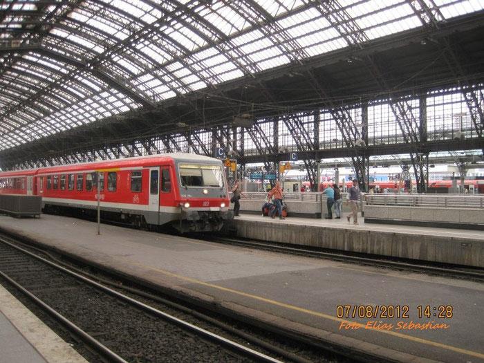 BR 628/928 In Köln Hbf