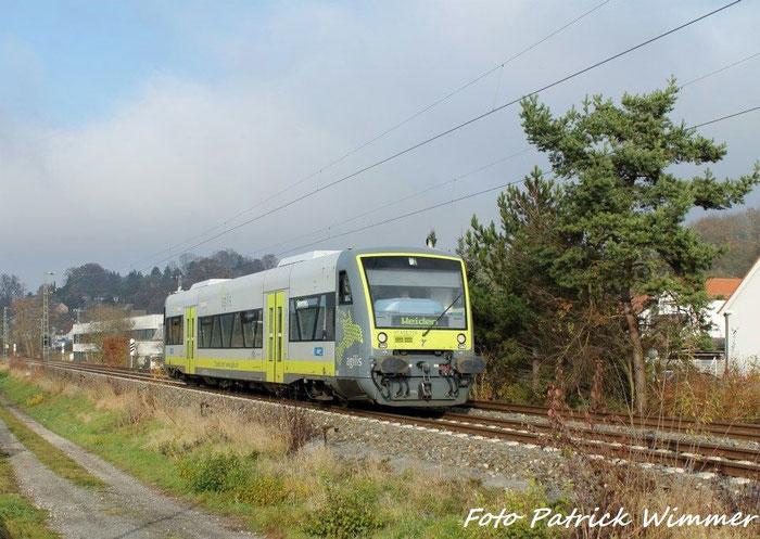 BR 650 auf den Weg nach Weiden in Creidlitz