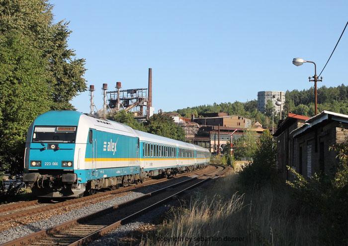223 066 am ALEX 354 bei Sulzbach-Rosenberg Hütte