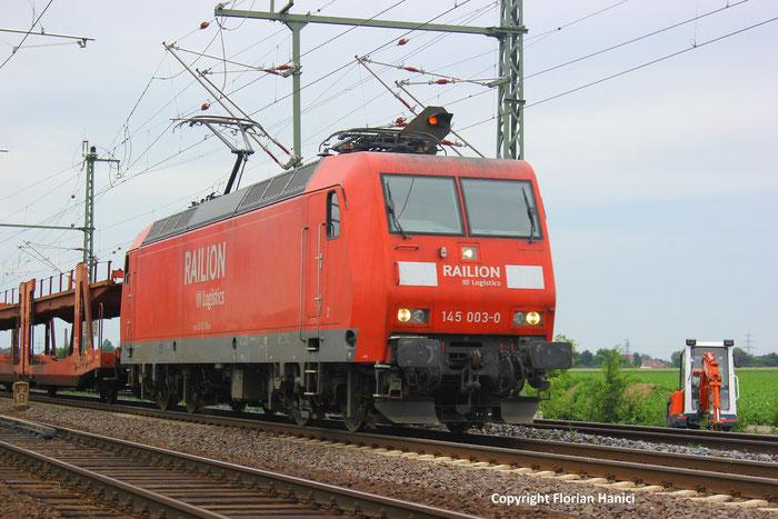145 003-0 in beddingen (Niedersachsen)