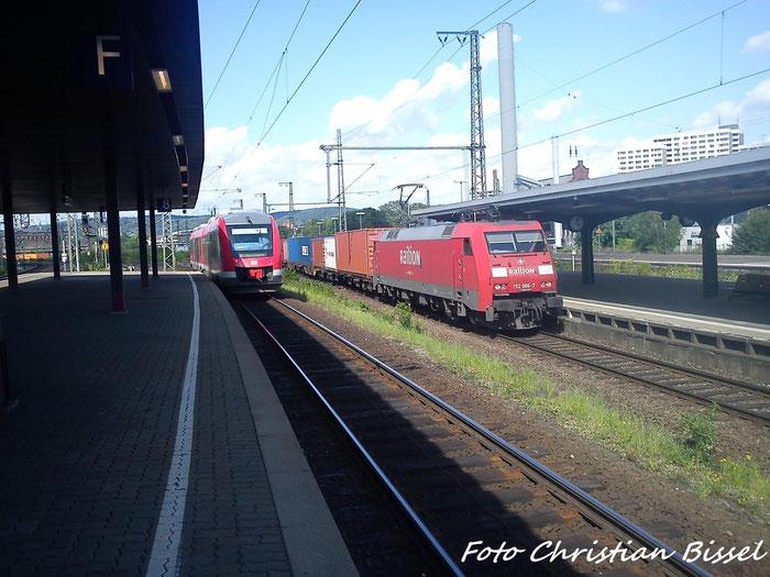 152 066-7 & BR 648 In Göttingen