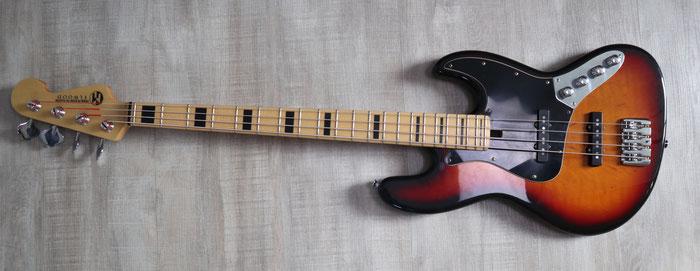 Jazz Bass mit 4 Saiten Detlev Gebers