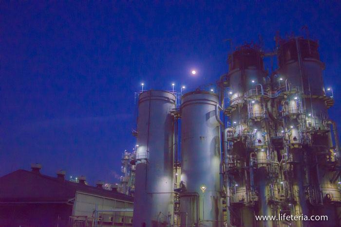 LifeTeria ブログ 工場夜景クルージング