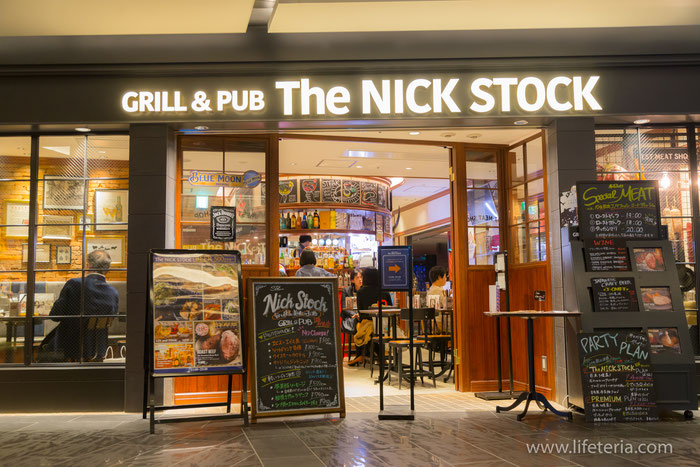 LifeTeria ブログ GRILL & PUB The NICK STOCK GINZA SIX店